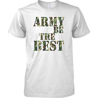 Ejército de ser el mejor - camuflaje - niños T Shirt