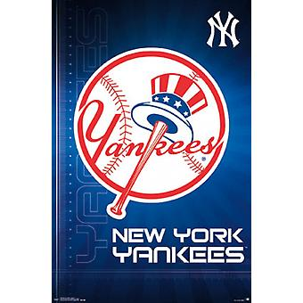 New York Yankees - logotipo 16 Poster Poster Print