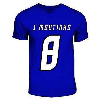 Joao Moutinho Porto helten T-shirt (royal blå)