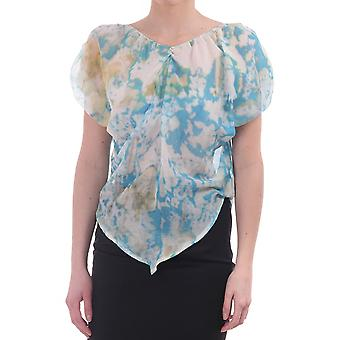 Vivienne Westwood Anglomania Sheer Printed Oversized Top