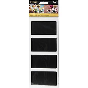 Chalkboard Stickers 8/Pkg-Rectangle CS8-RECT