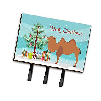 Каролинских сокровища BB9185TH68 бактрийского верблюд Рождество поводок или обладатель ключа