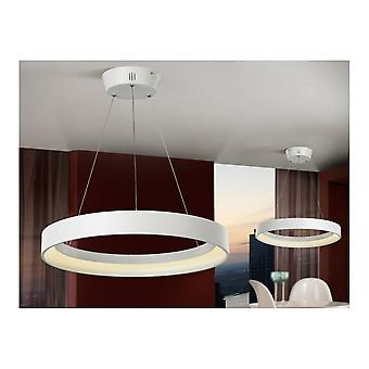 Schuller Cronos White Circle Of Light Chandelier Pendant
