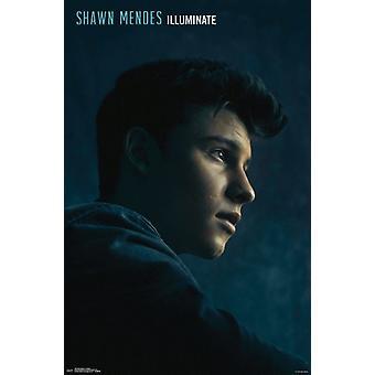 Shawn Mendes - oświetlania Poster Print