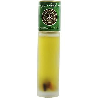 Terra Essential Scents By Terra Essential Scents Patchouli Aroma Roll On - Essential Oils Of Patchouli With Tiger Eye Gemstones In Jojoba Oil .33 Oz