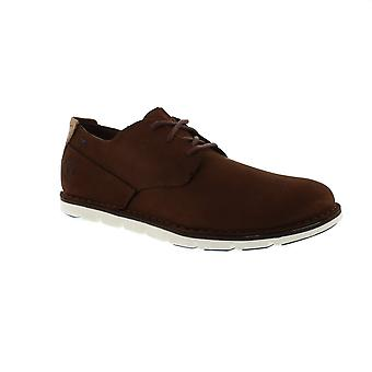 Timberland Tidelands Oxford - CA1PF2 Dark Brown Nubuck Mens Shoes