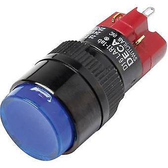 DECA D16LAR1-1abBB Pushbutton switch 250 V AC 5 A 1 x Off/On IP40 latch 1 pc(s)