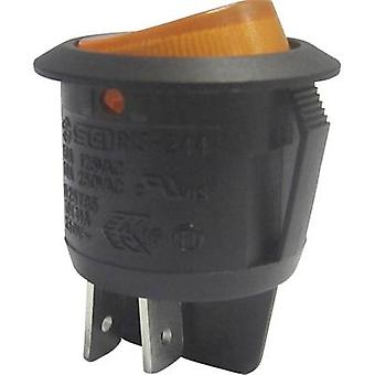 Toggle switch 250 V AC 10 A 2 x Off/On SCI R13-244