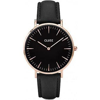 Watch Cluse Bohemia CL18001 - black joint Golden