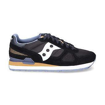 Saucony men's 2108686 Black Suede of sneakers