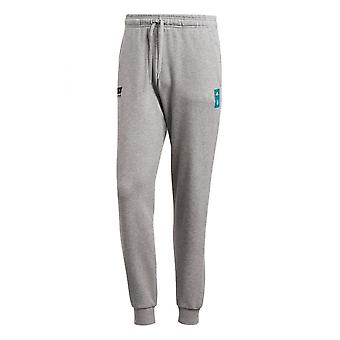 2018-2019 Deutschland Adidas Grafik Jogginghosen (Core Heather)