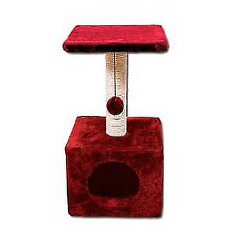 Nayeco Cat scratcher Savanna Town (maroon) (Cats , Toys , Scratching Posts)