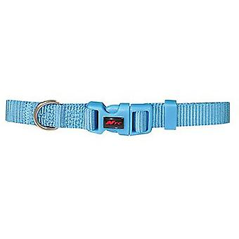 Nayeco Basic Dog Collar Blue Size M (Dogs , Collars, Leads and Harnesses , Collars)