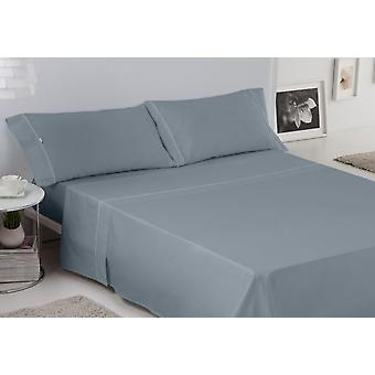 ES-TELA Set of sheets smooth cove with bias steel 4 pieces (Textile , Bed Linens)