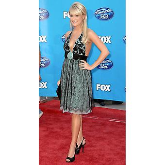 Carrie Underwood In Attendance For American Idol 2008 Grand Finale Nokia Theatre Los Angeles Ca May 21 2008 Photo By Dee CerconeEverett Collection Celebrity