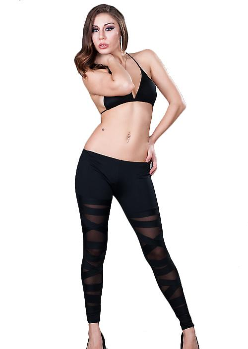 Waooh - Fashion - Leggings with long strips