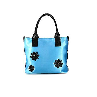 PINKO BAG CANESCA LIGHT BLUE SMALL