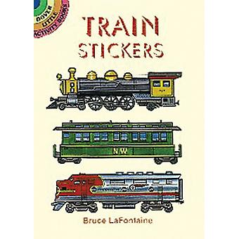 Dover Publications-Train Stickers
