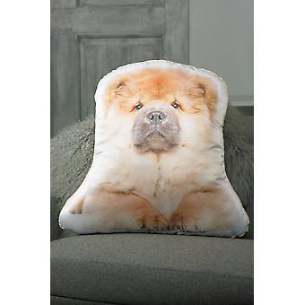 Adorable chow chow shaped cushion