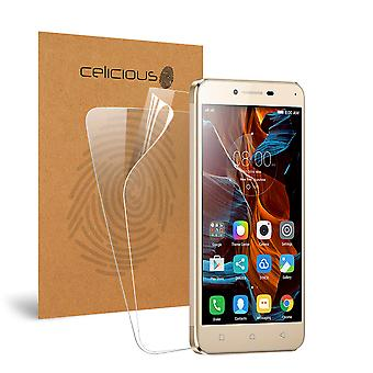 Celicious Vivid Invisible Glossy HD Screen Protector Film Compatible with Lenovo Vibe K5 [Pack of 2]