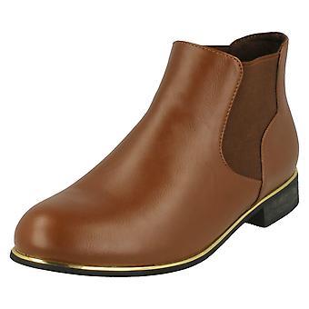 Damen-Spot auf Chelsea Stil Ankle Boots F50405