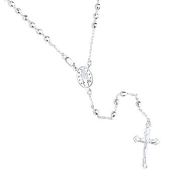 925 sterling silver Rosary Rosary necklace - 4mm bead