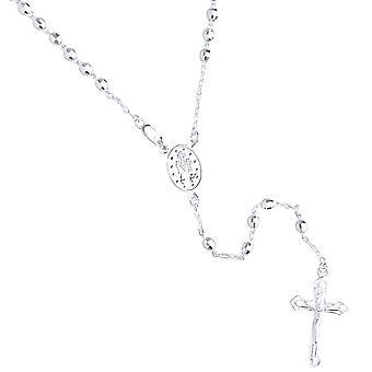 925 sterling sølv Rosary Rosary kjede - 4mm perle