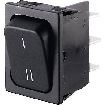 Marquardt Toggle switch 01834.3309-00 250 V AC 6 A 2 x On/On IP40 latch 1 pc(s)