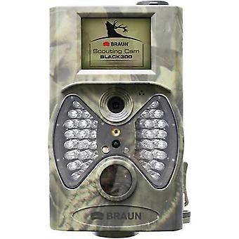 Braun Germany Scouting Cam Wildlife camera 12 MPix Black LEDs, Remote control Camouflage