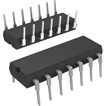Logic IC - Counter SN74LS92N Binary counter, Division by 12 74LS Positive slope 42 MHz DIP 14
