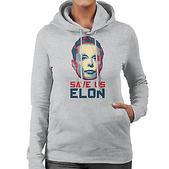 Save Us Elon Women's Hooded Sweatshirt