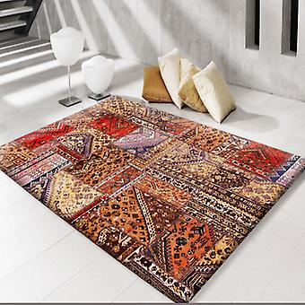 Rugs -Modern Persian Patchwork Gold