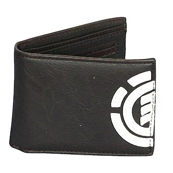 Element Wallet with CC, Note and Coin Pockets ~ Daily bear brown