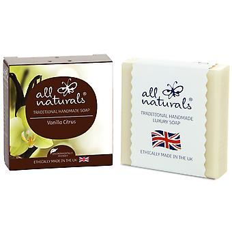 All Naturals Organic Soap Vanilla Citrus 100g