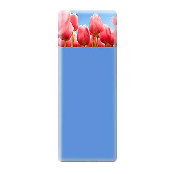 Tulips Magnetic & Chalk Notice Board