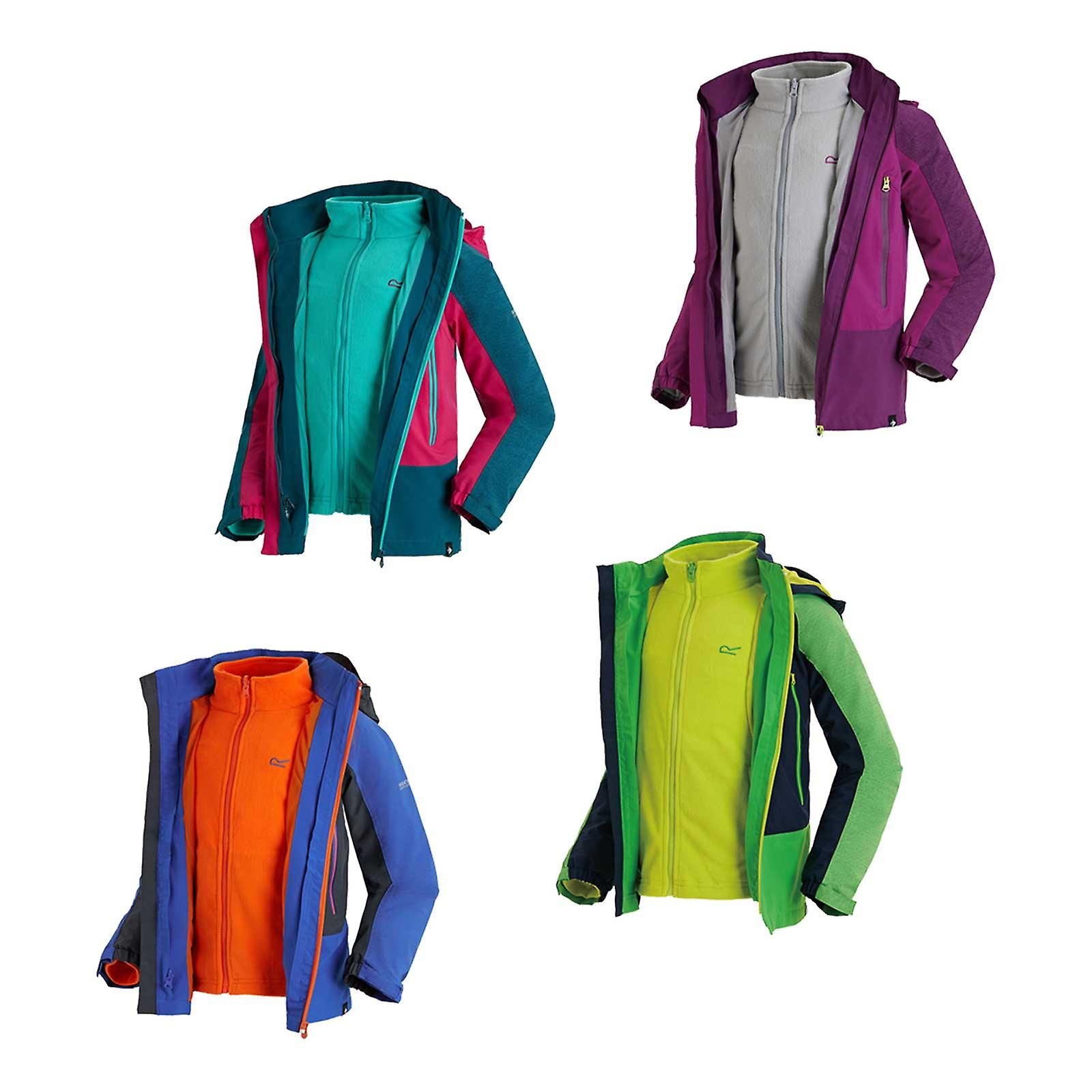 Regatta Enfants hydratent III 3 en 1 veste imperméable
