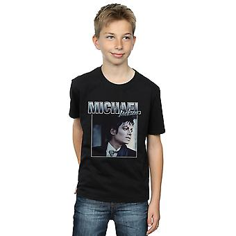 Michael Jackson Boys Homage Portrait T-Shirt