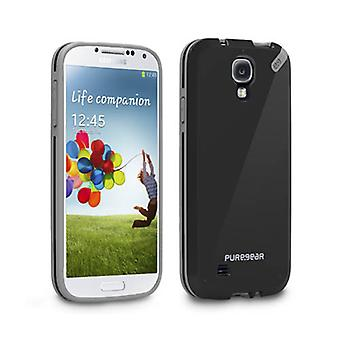 PureGear Slim Shell Case for Samsung Galaxy S4 (Black Tea)