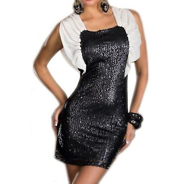 Waooh - Mode - Robe courte Style Clubwear Avec Sequins