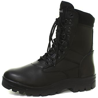 Grafters Top Gun Black Mens Combat Boots