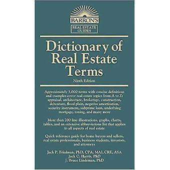 Dictionnaire des termes de l'immobilier par Jack P. Friedman - 9781438008769 B