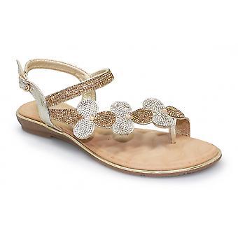 Lunar Karolina Floral Gemstone Sandal
