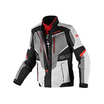 Spidi Black-Grey-Red X-Tour H2Out Waterproof Motorcycle Jacket