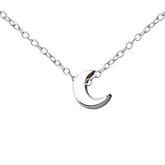 Halvmåne - 925 Sterling Silver ren halskjeder - W17742X