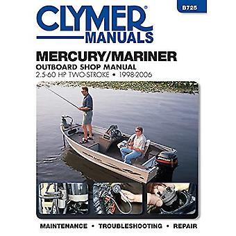 Mercury/Mariner 2.5 - 60 HP 2-Stroke Outboard Motor Repair Manual (Haynes Clymer Outboard Motor Repair Manual)
