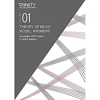 Trinity College London: Theory Model Answers (Nov 2017) Grade 1