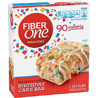 Fiber One 90 Calorie Birthday Cake Bar 2 Pack