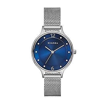 Skagen Anita SKW2307, analog watch ladies stainless steel, Silver Plated