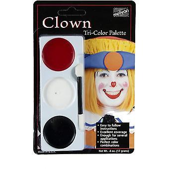 Tri Color Palette Clown