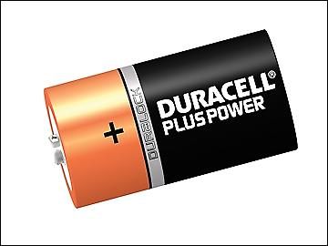 Duracell C Cell Plus Power Batteries Pack of 2 R14B/LR14